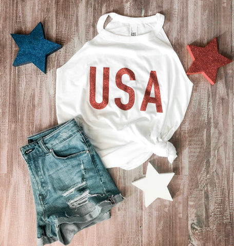 USA High Neck Tank