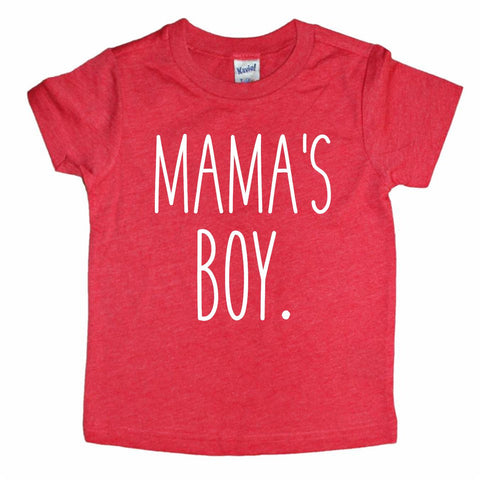 Mama's Boy Red/White