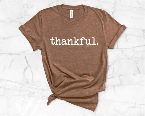 thankful. fall tee
