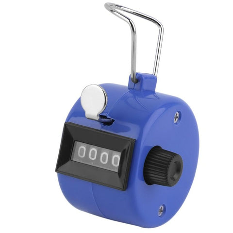 1Pc Golf Handheld Manual 4 Digit Number Tally Counter Clicker Free Shipping Hot Worldwide