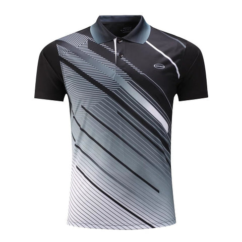 Top Quality Golf Shirt Men Sportwear Polo Shirt Tennis Clothing Sports Badminton T Shirt Breathable Lover Clothes