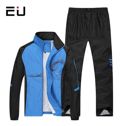 Men Sport Suits Plus Size Running Sets Men Basketball Jogging Fitness Training Suits Running Sport Tracksuit Mens Gym Sets