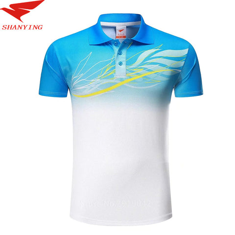 2017 Sports Polo Shirt Men Golf Shirt 100% Polyester Short Sleeve Turn-down Collar Quick Dry Shirts Sportswear Lover Clothes New