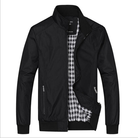 Big Size 5XL 6XL Mens Spring Summer Jackets Casual Thin Male Windbreakers College Bomber Black Windcheater Hommes Varsity Jacket