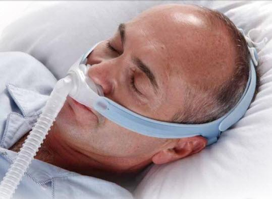 Nasal Pillows CPAP Mask with Headgear for Him