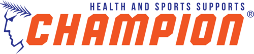 Champion Health and Sports Supports Logo