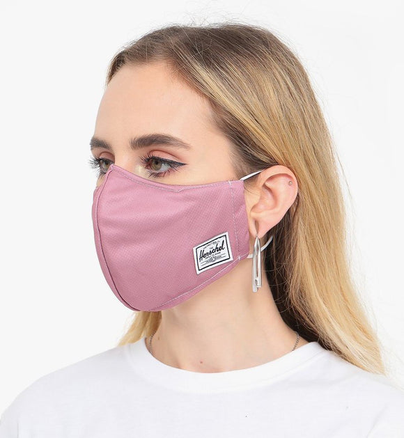 HERSCHEL FACE MASK ASH ROSE