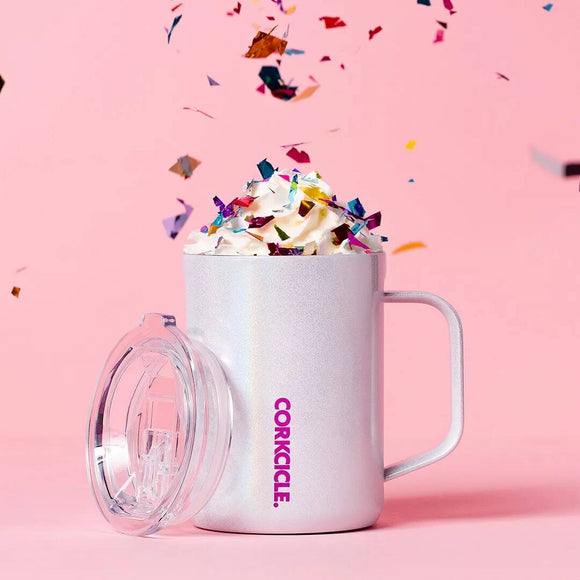 CORKCICLE MUG 16OZ SPARKLE UNICORN MAGIC