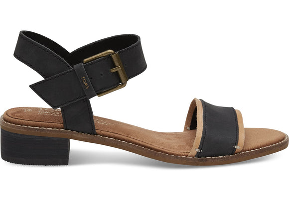 TOMS CAMILIA LEATHER SANDAL