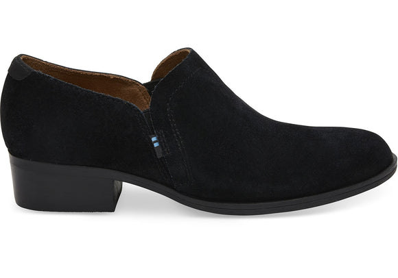 TOMS SHAYE SUEDE BOOTIE