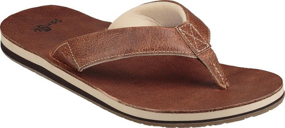 SANUK JOHN DOE 2 LEATHER SANDAL