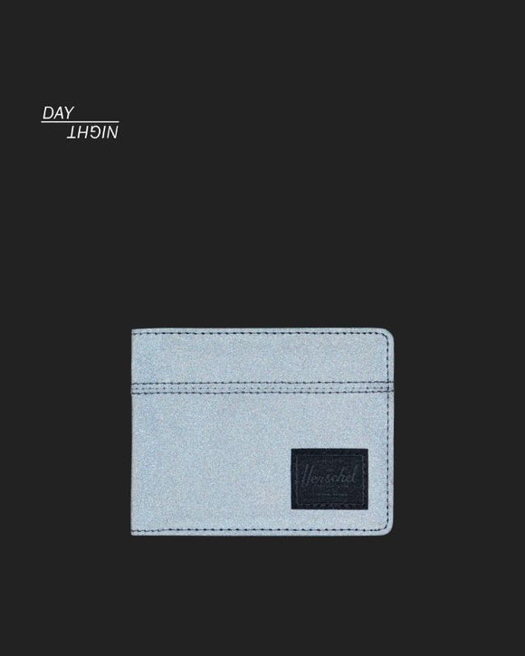 HERSCHEL ROY WALLET REFLECTIVE BLACK