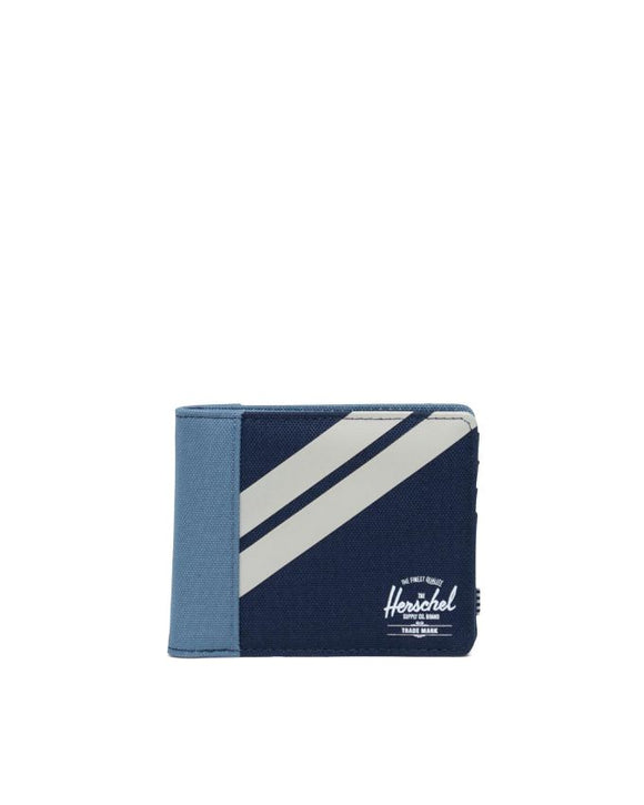 HERSCHEL ROY WALLET COIN PEACOAT/BLUE MIRAGE/PELICAN