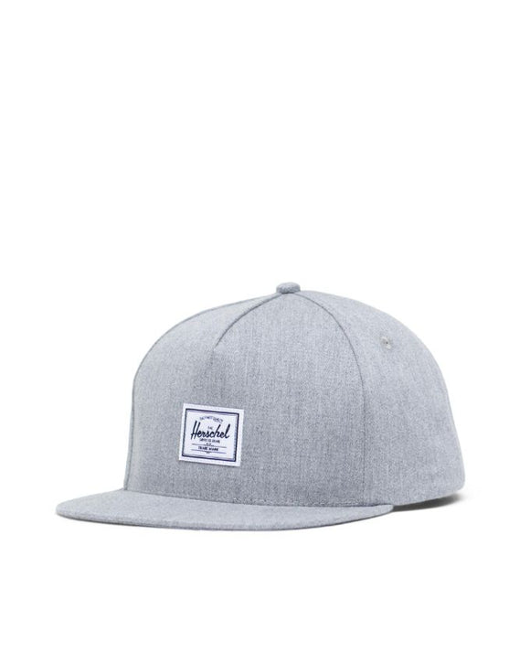 HERSCHEL WHALER CAP CLASSIC HEATHER GREY