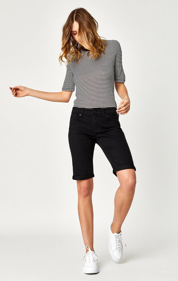MAVI KARLY BLACK NOLITA SHORT