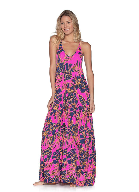 MAAJI ALOHA DREAMS MAXI DRESS