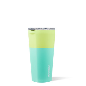 CORKCICLE TUMBLER 16OZ COLOUR BLOCK LIMEADE
