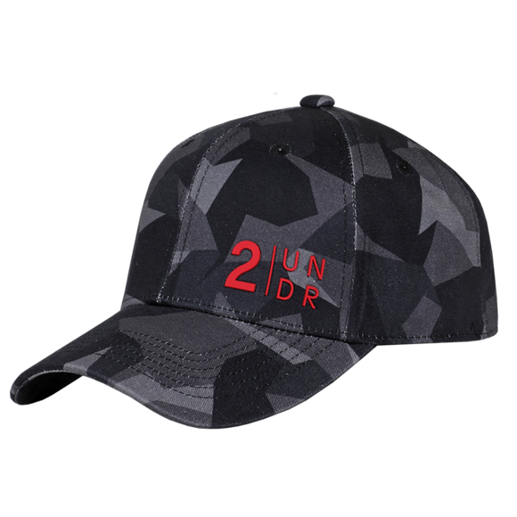 2UNDR FULL PRINT HAT BLACK CAMO