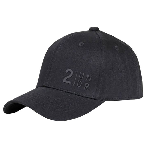 2UNDR SNAPBACK SOLID HAT BLACK