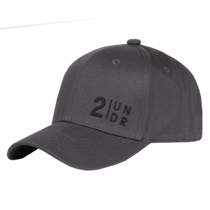 2UNDR SNAPBACK SOLID HAT CHARCOAL