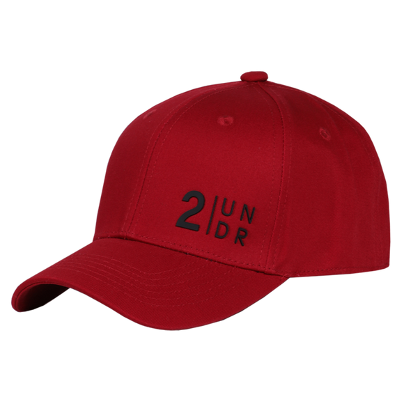 2UNDR SNAPBACK SOLID HAT RED