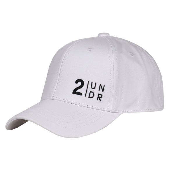 2UNDR SNAPBACK SOLID HAT WHITE