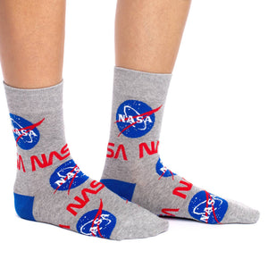 GOOD LUCK SOCK NASA CREW SOCKS WOMENS 5-9