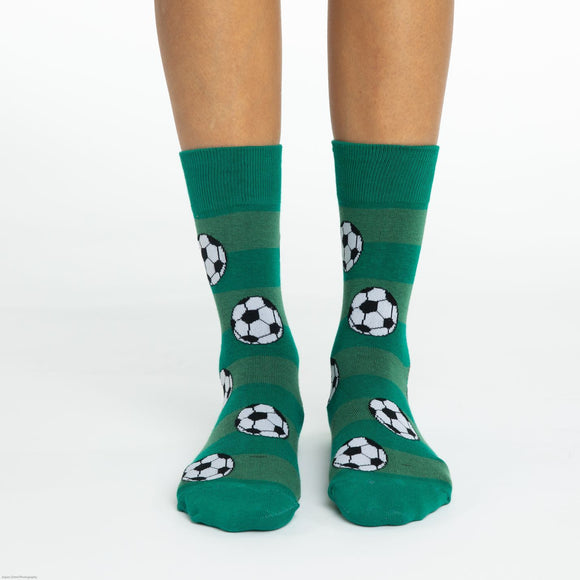 GOOD LUCK SOCK SOCCER CREW SOCKS WOMENS 5-9