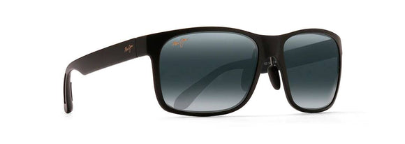 MAUI JIM RED SANDS BLACK MATTE/GREY