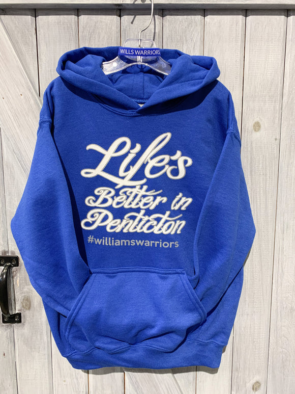 THE BUMWRAP WILLIAMS WARROR YOUTH HOODIE