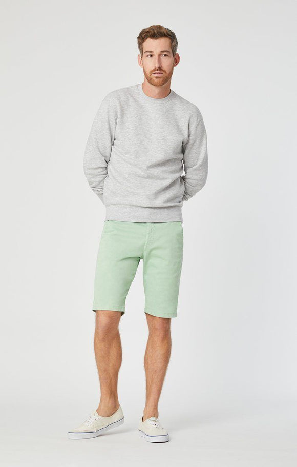 MAVI JACOB MINT SATEEN SHORTS