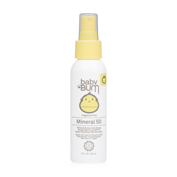 SUN BUM BABY BUM SPF 50 MINERAL SUNSCREEN SPRAY