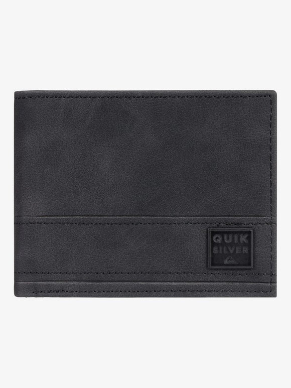 QUIKSILVER STITCHY LEATHER WALLET