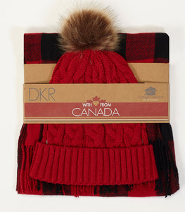 DKR & CO TOQUE & SCARF COMBO