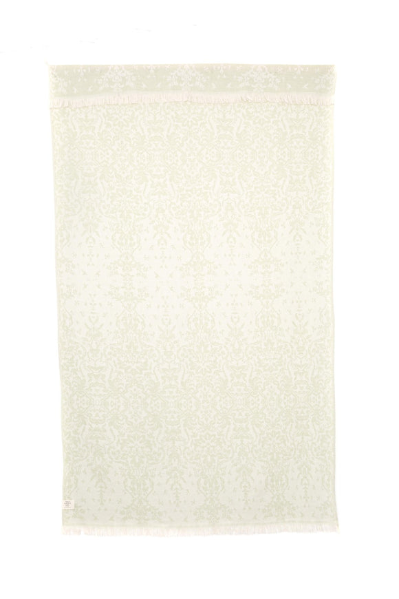 TOFINO TOWEL THE CARMANAH TURKISH TOWEL ALMOND