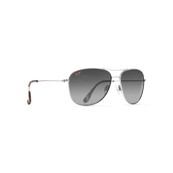 MAUI JIM CLIFFHOUSE SILVER/NEUTRAL GREY
