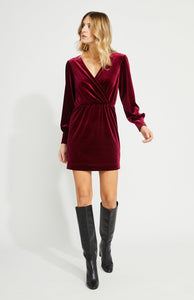 GENTLE FAWN HELEN DRESS RASPBERRY