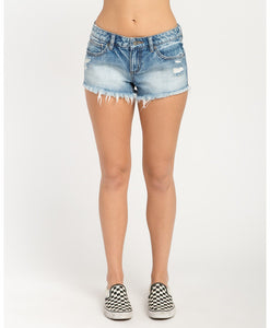 RVCA HELLO MELLOW DENIM SHORTS