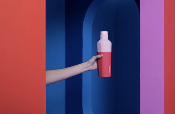 CORKCICLE CANTEEN 16OZ COLOR BLOCK