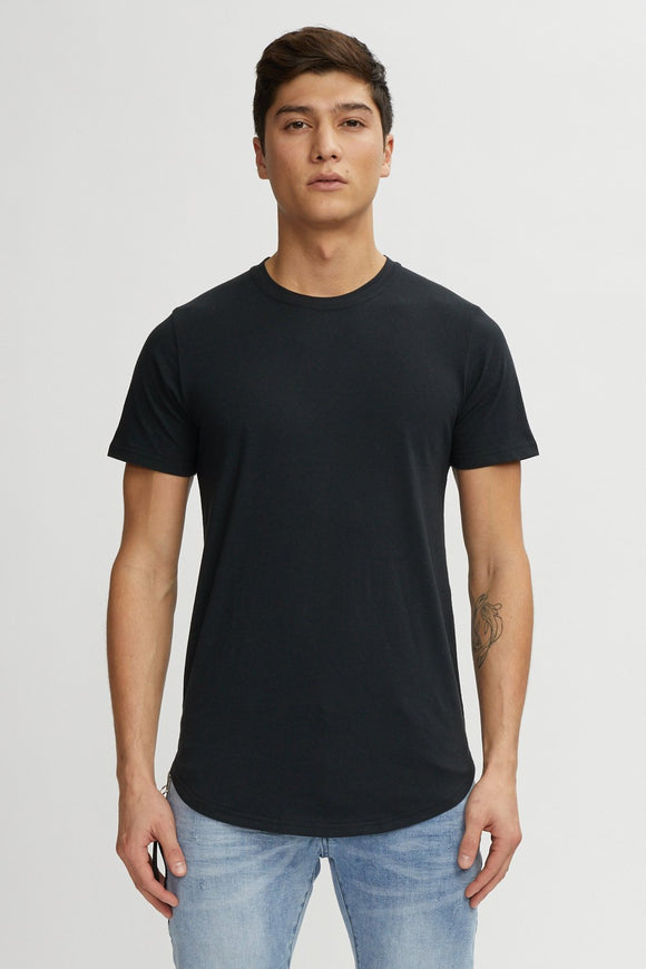 KUWALLA TEE EAZY SCOOP TEE BLACK