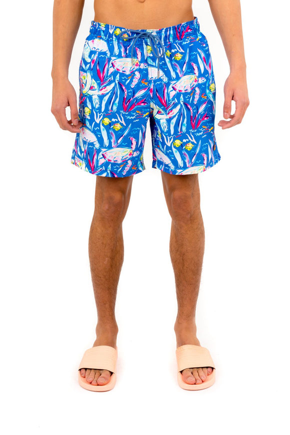 KUWALLA TEE RECYCLED SWIM TRUNK TURTLE