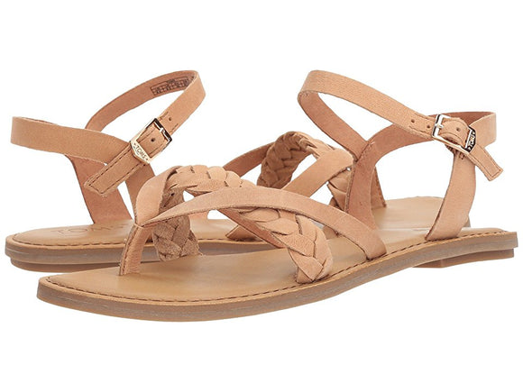 TOMS LEXIE LEATHER SANDALS