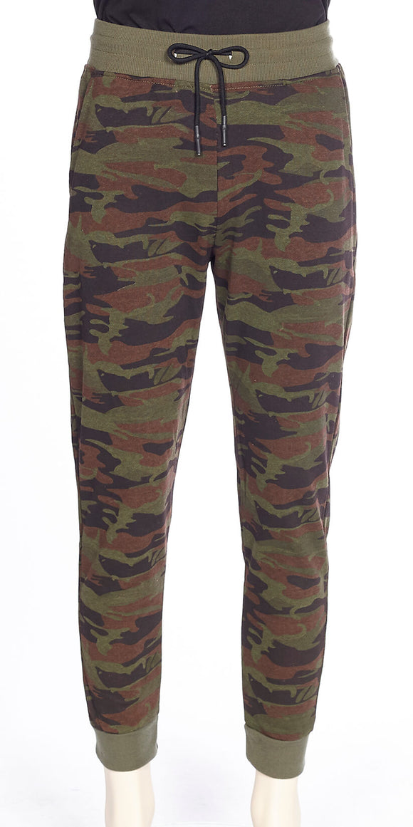 DKR & CO CAMOUFLAGE JOGGER