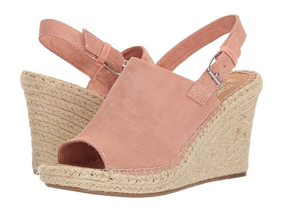 TOMS MONICA SUEDE WEDGE