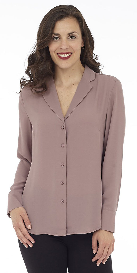 DKR & CO LONG SLEEVE BUTTON UP BLOUSE