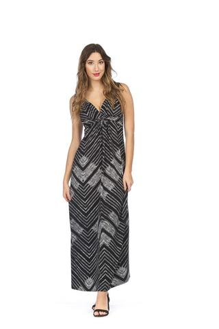 PAPILLON GLOBAL PRINTED MAXI DRESS