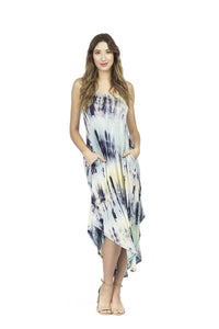 PAPILLON TIE DYE MAXI DRESS
