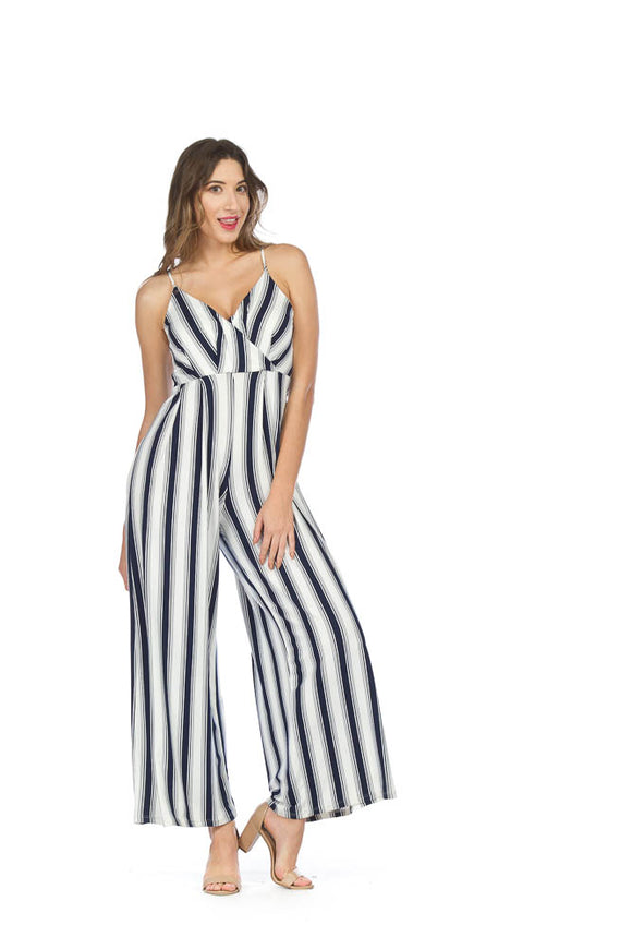 PAPILLON SOFT STRIPED JUMPSUIT