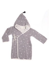 TOFINO TOWEL THE PEBBLE BATH ROBE TODDLER STONE