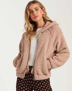 BILLABONG REINE DOWN FLEECE JACKET